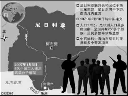 特别报道:中国使馆营救被绑同胞内幕
