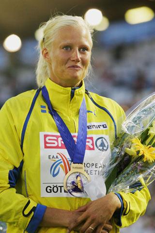 2006年欧洲最佳田径女星出炉 美女克鲁夫特当选