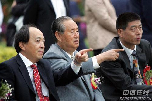 图文:沙排基地三亚落成 总局领导观看教学赛