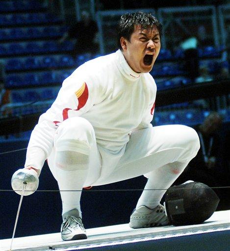 击剑小子王磊饮恨雅典奥运 卧薪尝胆都灵再亮剑