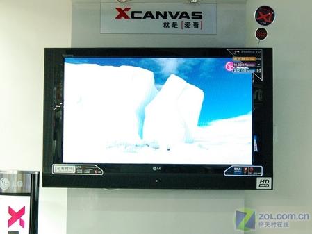 内置80G硬盘 LG 50PC1RR等离子电视