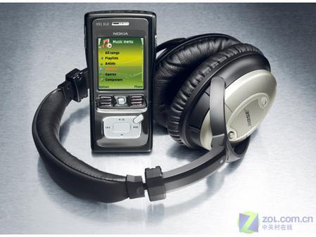 音乐智能旗舰 诺基亚N91 8GB震撼上市