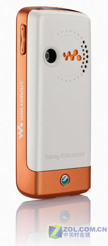 图为索爱Walkman低端音乐手机W200