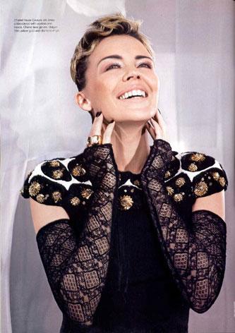 """凯莉米洛懂穿衣 当选""""全球最佳衣着女性""""(图)"""