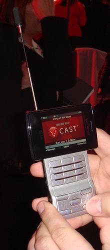 紧随三星 LG发布VCAST电视手机VX9400