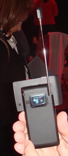 图为支持VCAST技术的LG新机VX9400
