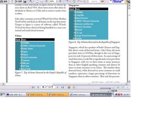 AVAR2006微软发布中国十大间谍软件原文披露