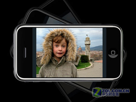图为正式发布的苹果手机iPhone