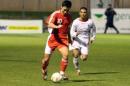 图文:国奥0-0加西 陈涛策动进攻