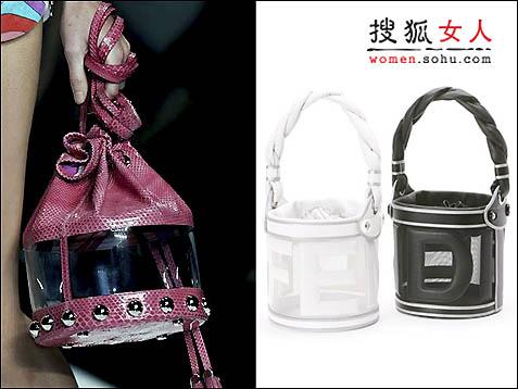 时尚:透明魅惑 大牌鞋包秀新春