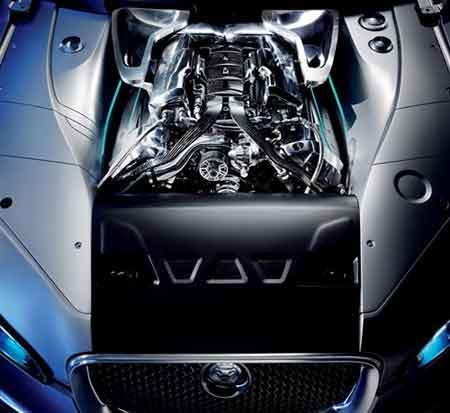 2升机械增压型V8发动机-捷豹C XF亮相 引领下一代捷豹设计方向
