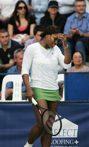 霍巴特赛小威苦战遭逆转 腕伤困扰大威退出澳网