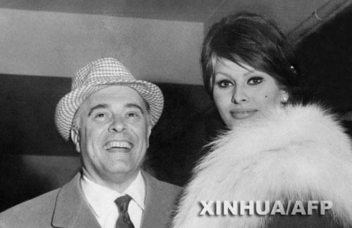 意影星索非亚-罗兰的丈夫蓬蒂去世 享年94岁