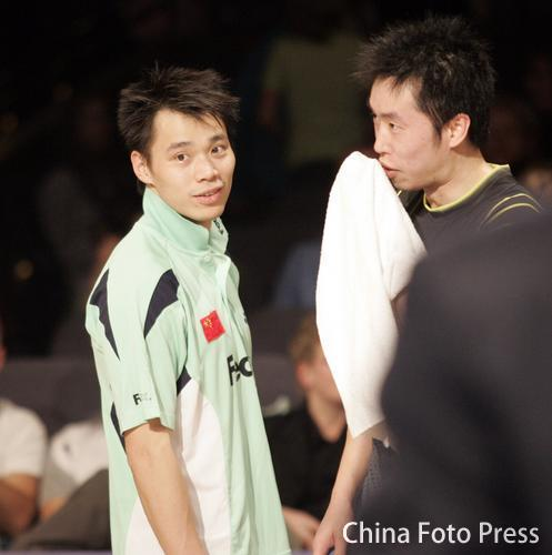 图文:夏煊泽宣布退役 仍然留恋赛场?