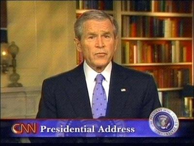 布什宣布向中东增派航母 阻止伊朗获得核武器