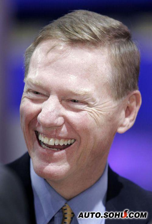 北美车展福特汽车公司首席执行官穆拉利