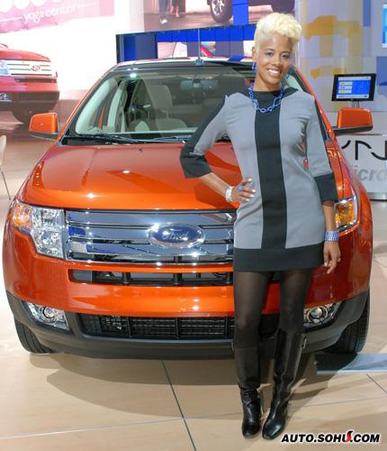 格莱美提名嘻哈歌星Kelis助阵北美车展