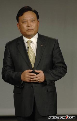东风悦达起亚总经理李炯根出席北美车展
