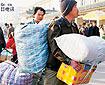 西安农民工提前返乡