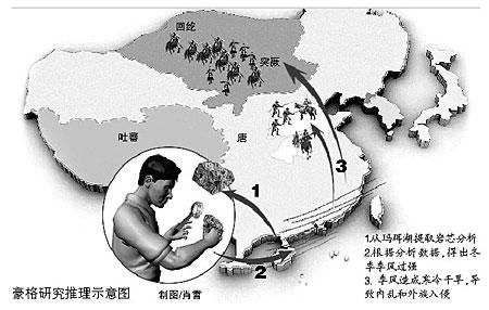 气候变化加速唐朝灭亡理论遭专家质疑(图)