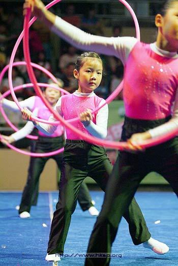 中国香港体操水平有点差 迫切渴望李小双这样的