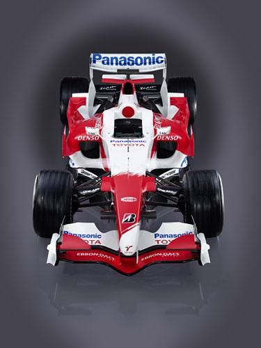 图文:F1丰田打破旧制创新 空气动力学雕琢