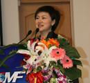 央视《中国证券》的主持人严晓宁介绍此次论坛