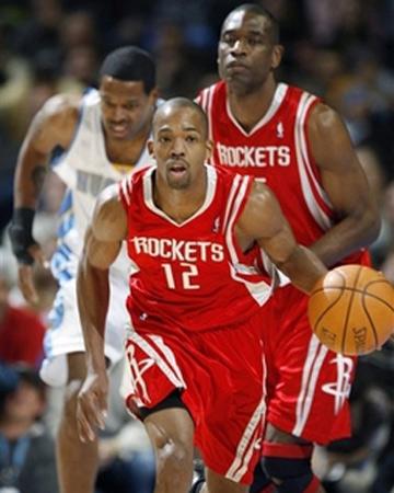 NBA图:火箭VS掘金 阿尔斯通带球快攻