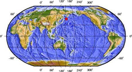 千岛群岛发生7.9级地震(图)