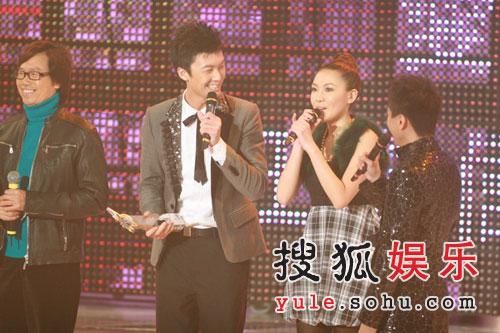 图:最受欢迎合唱歌曲银奖王浩信梁晴晴