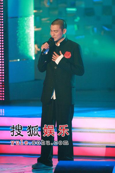 图:刘德华演绎歌曲《心肝宝贝》