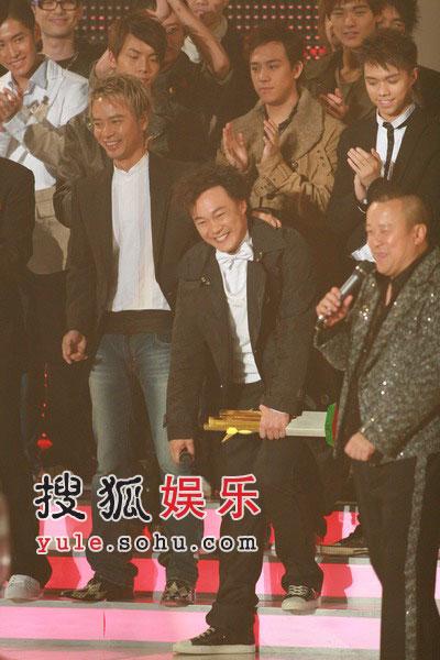 图:陈奕迅表情夸张搞笑