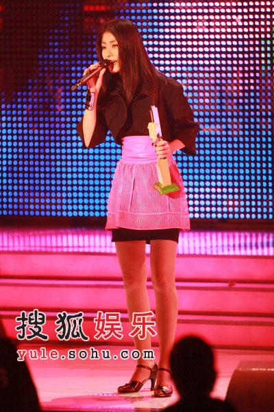 获奖:亚太区最受欢迎香港女歌星陈慧琳