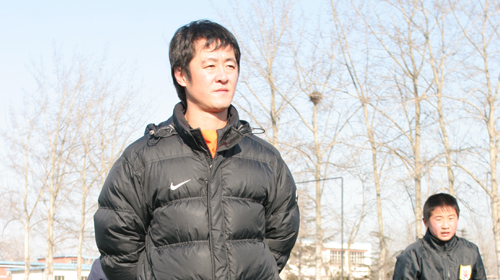 范学伟、侯志强执教鲁能足校 掀足球生涯新一页