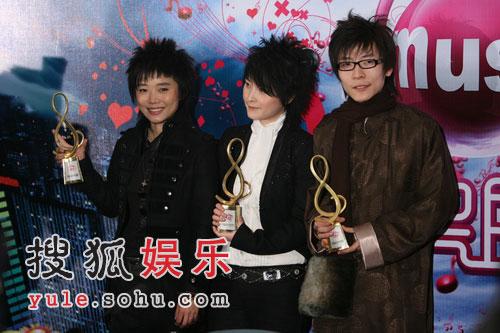 图:无限音乐盛典颁奖礼-厉娜 王啸坤 许飞