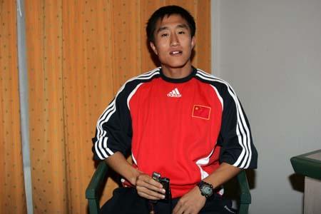 代钦华期望留在国奥队 终极目标进入国家队(图)
