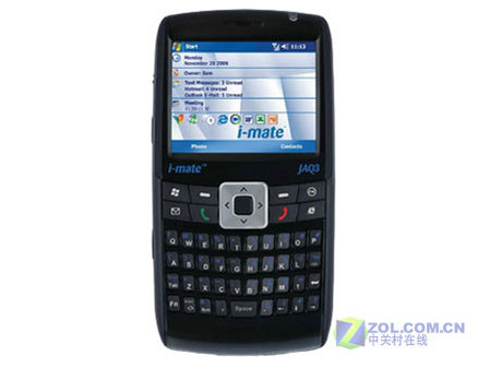 图为i-mate JAQ3智能手机