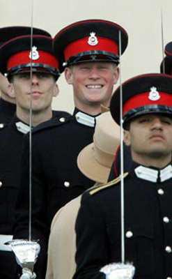英国王子将接受伊战训练 哈里据称希望赴伊拉克