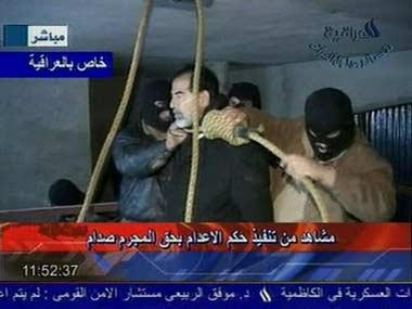 萨达姆受刑录像惹祸 世界各地多名儿童模仿丧生