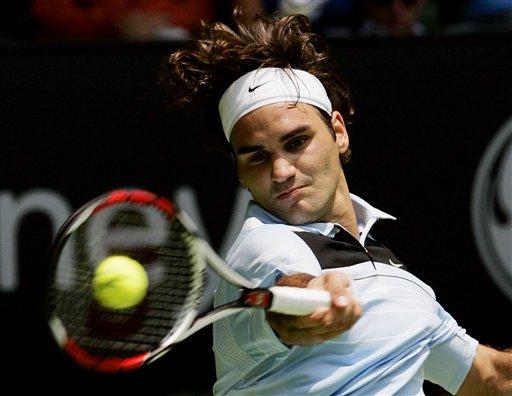 澳网-费德勒强势过关 瑞士天王迈出卫冕第一步