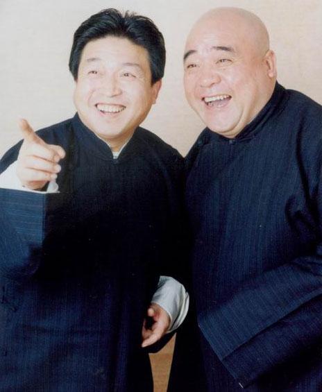 图:传统相声晚会主要演员—刘洪沂、李嘉存2
