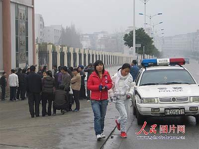 江西宜春发生校园枪击案 一名技校学生身亡(图)