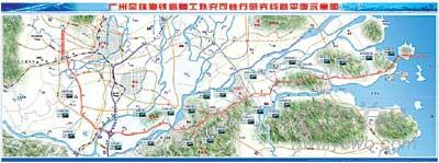 广珠铁路动工20年改动线路后复工 货运量惹争议