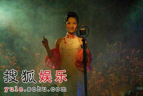 《旗袍》拍摄过半 孙晶晶与秋海棠同悲喜(图)