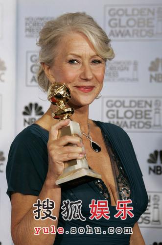获奖:电视电影类最佳女主角海伦-米勒