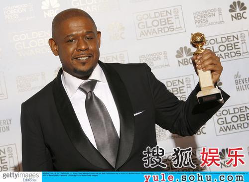 获奖:剧情电影类最佳男主角福里斯特-惠特克
