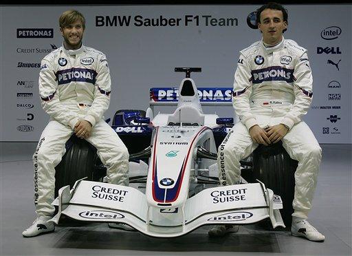 宝马发布新车F1.07 全德国制造开创车队新历史