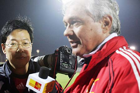 搜狐体育专访杜伊:全队都是最佳 考察仍在继续