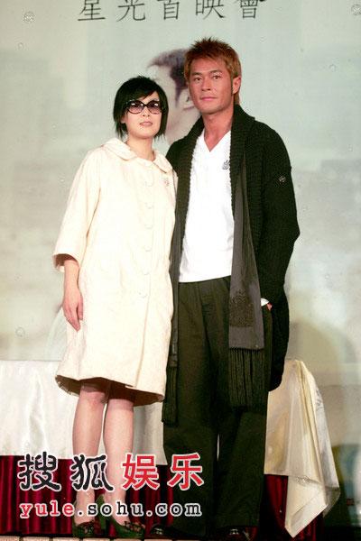 《生日快乐》首映式 刘若英强忍不适出席(图)