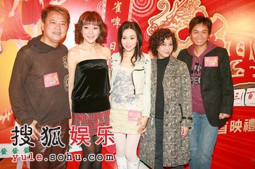 《雀圣3》首映 王晶郭晋安揭密麻雀实战绝招